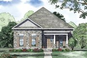 Traditional Style House Plan - 3 Beds 2 Baths 2119 Sq/Ft Plan #17-2421 Exterior - Other Elevation