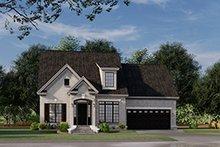 House Plan Design - European Exterior - Front Elevation Plan #17-3066