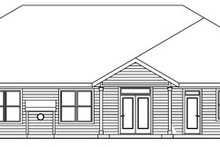 Craftsman Exterior - Rear Elevation Plan #124-773