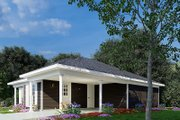 Traditional Style House Plan - 3 Beds 2 Baths 1174 Sq/Ft Plan #923-217