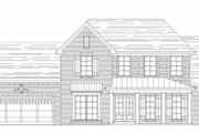 Farmhouse Style House Plan - 4 Beds 3 Baths 2657 Sq/Ft Plan #329-354 Exterior - Other Elevation