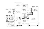 Farmhouse Style House Plan - 4 Beds 2 Baths 1951 Sq/Ft Plan #48-1045