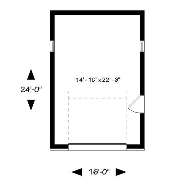 Traditional Floor Plan - Main Floor Plan Plan #23-2633