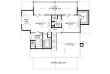 Country Floor Plan - Upper Floor Plan Plan #932-3