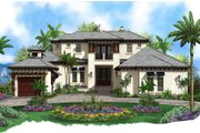 Contemporary Style House Plan - 4 Beds 4.5 Baths 5973 Sq/Ft Plan #27-532