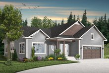 Traditional Exterior - Front Elevation Plan #23-645
