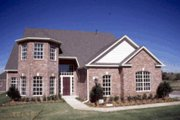 Traditional Style House Plan - 4 Beds 3.5 Baths 2878 Sq/Ft Plan #20-188 Exterior - Front Elevation