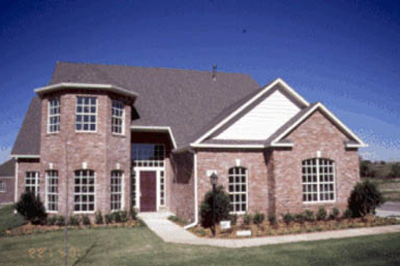 Architectural House Design - Traditional Exterior - Front Elevation Plan #20-188
