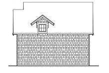 Craftsman Exterior - Rear Elevation Plan #48-155