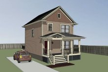 Dream House Plan - Cottage Exterior - Other Elevation Plan #79-120