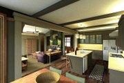 Craftsman Style House Plan - 3 Beds 3 Baths 1858 Sq/Ft Plan #51-523