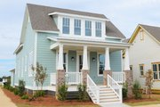Traditional Style House Plan - 3 Beds 2.5 Baths 1988 Sq/Ft Plan #69-399
