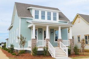 Traditional Exterior - Front Elevation Plan #69-399