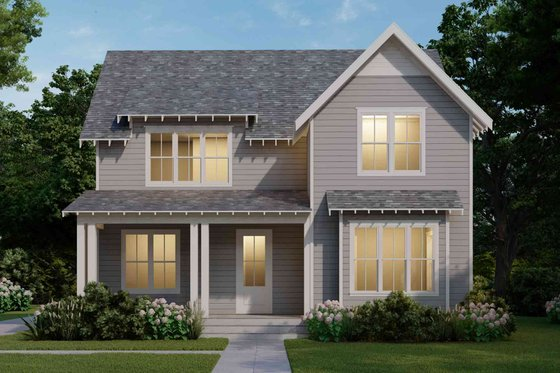 Farmhouse Exterior - Front Elevation Plan #1079-4