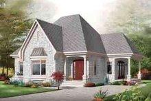 Cottage Exterior - Front Elevation Plan #23-621