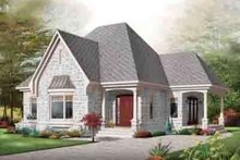 Architectural House Design - Cottage Exterior - Front Elevation Plan #23-621