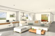 Modern Style House Plan - 2 Beds 2 Baths 1575 Sq/Ft Plan #497-24 Interior - Other