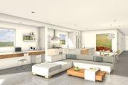 Modern Style House Plan - 2 Beds 2 Baths 1575 Sq/Ft Plan #497-24