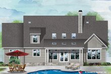 Craftsman Exterior - Rear Elevation Plan #929-1110