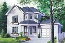 Home Plan - European Exterior - Front Elevation Plan #23-2009