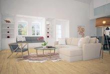 Architectural House Design - Farmhouse Interior - Family Room Plan #888-1