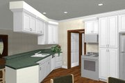 Ranch Style House Plan - 3 Beds 2 Baths 1500 Sq/Ft Plan #44-134
