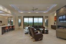 House Design - Contemporary Interior - Family Room Plan #935-18