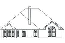 Dream House Plan - European Exterior - Rear Elevation Plan #42-396