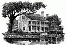 Colonial Exterior - Front Elevation Plan #137-241