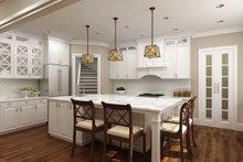 House Design - European Interior - Kitchen Plan #119-427