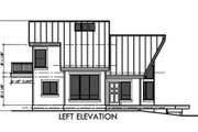 Contemporary Style House Plan - 2 Beds 2 Baths 1473 Sq/Ft Plan #303-334 Exterior - Other Elevation