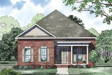 Home Plan - Traditional Exterior - Other Elevation Plan #17-2421
