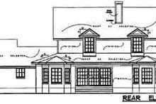Traditional Exterior - Rear Elevation Plan #40-151