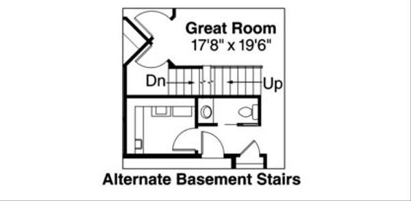 Craftsman Floor Plan - Other Floor Plan Plan #124-739