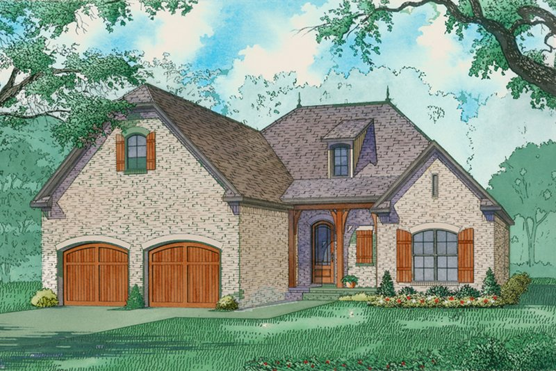 Ranch Style House Plan - 3 Beds 2 Baths 1786 Sq/Ft Plan #923-92