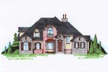 Home Plan - European Exterior - Front Elevation Plan #5-372