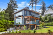 Contemporary Style House Plan - 3 Beds 3 Baths 2287 Sq/Ft Plan #1070-7