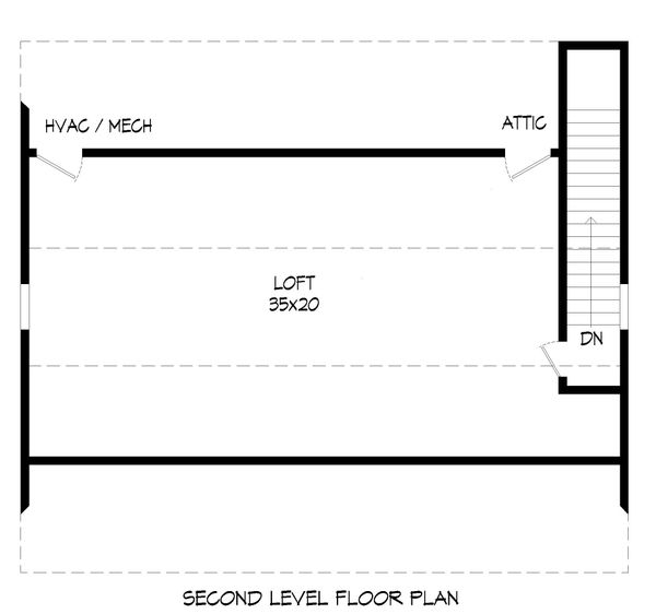 House Plan Design - Contemporary Floor Plan - Upper Floor Plan #932-342
