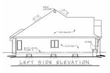 House Plan Design - Traditional Exterior - Other Elevation Plan #20-2123
