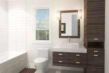 Home Plan - Contemporary Interior - Bathroom Plan #23-2612
