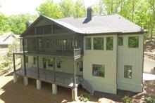 House Plan Design - Craftsman Exterior - Rear Elevation Plan #437-115