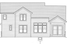 Craftsman Exterior - Rear Elevation Plan #46-891