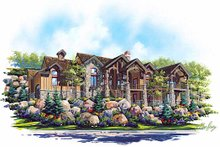 Home Plan - Traditional Exterior - Front Elevation Plan #5-331