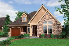 Dream House Plan - Traditional Exterior - Other Elevation Plan #48-280