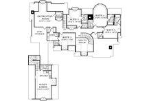 European Floor Plan - Upper Floor Plan Plan #453-26