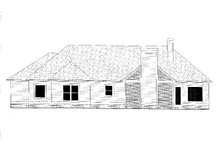 Craftsman Exterior - Rear Elevation Plan #437-109