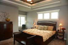 House Plan Design - European Interior - Master Bedroom Plan #20-2070