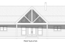 Country Exterior - Front Elevation Plan #932-310