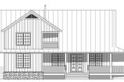 Cabin Style House Plan - 3 Beds 2.5 Baths 2200 Sq/Ft Plan #932-49 Exterior - Rear Elevation