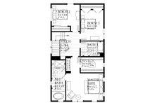 Farmhouse Floor Plan - Upper Floor Plan Plan #901-136